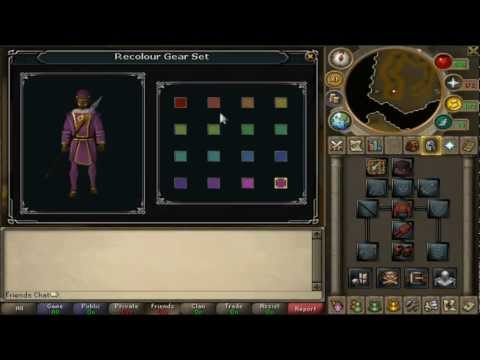 Runescape Queen's Guard and Dragon Ceremonial Sets & Shark fists