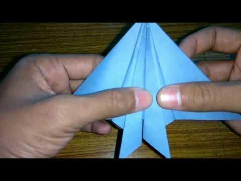 How to Make a Paper Plane / Origami Bird / Leach's Storm Petrel?
