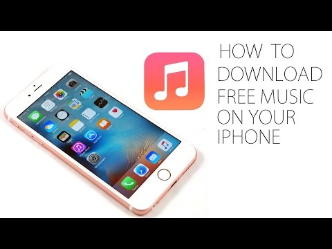 How to Download Free Music to Music Library on iPhone WITHOUT JAILBREAK
