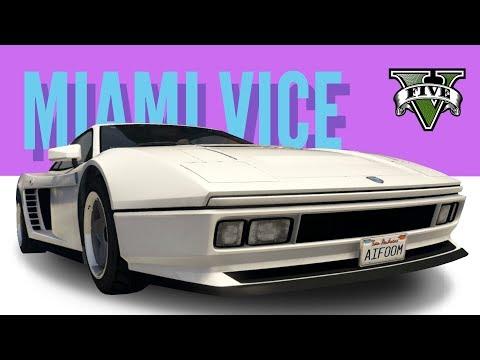 Cheetah Classic: Miami Vice Ferrari Testarossa Build [GTA5]