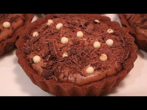 Malted Milkshake Chocolate Tart