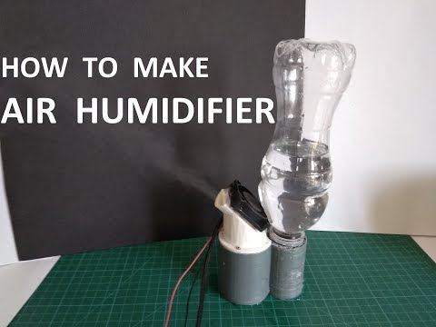 How to make mini Air Humidifier 6$