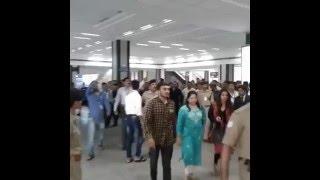 Salman Khan at Ahmedabad Airport : in Bhaijaan Look