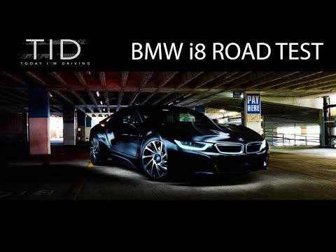 BMW i8 road test (How does a hybrid car sound?!)