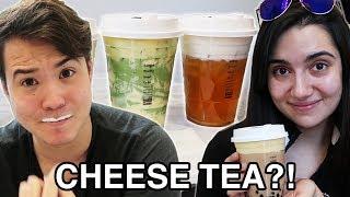 We Tried Instagram Cheese Tea