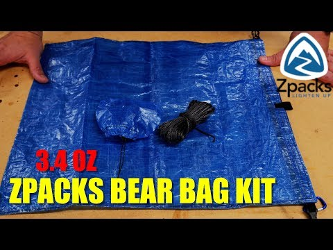 The BEST ULTRALIGHT Bear Bag Kit You Can Buy - ZPacks Bear Bag Kit