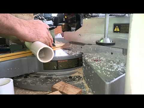 How to cut PVC piping using a miter saw
