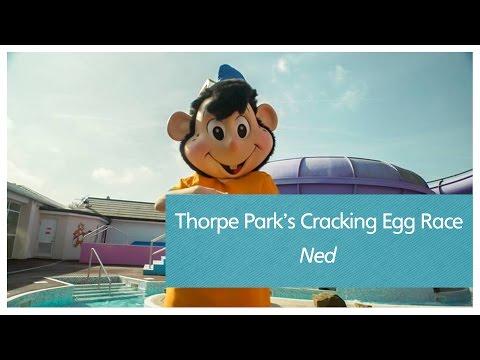 Thorpe Park's Cracking Egg Race - Ned