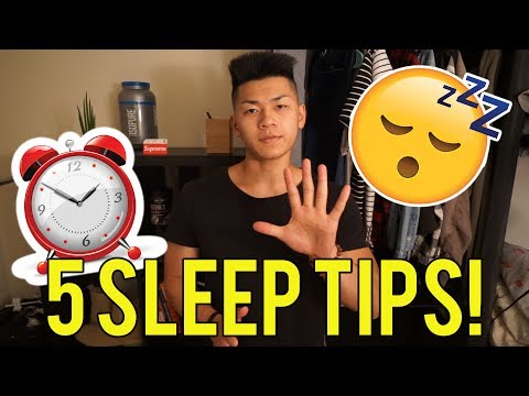 5 Tips To Getting Better Sleep! | Johnathan Thai