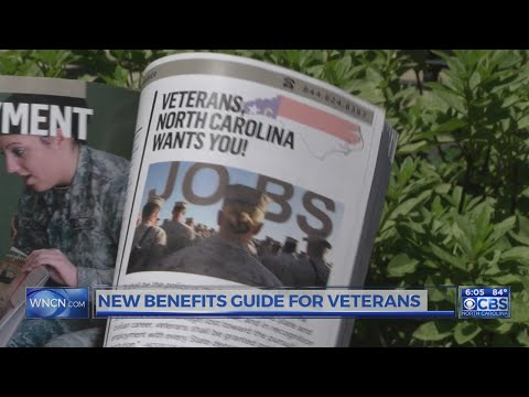 NC releases new benefits guide for veterans, active military