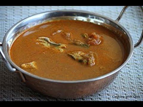 Kerala Style- Roasted Coconut Fish Curry- Varutharacha Meen Curry