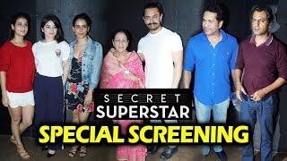 Secret Superstar Special Screening | Full HD Video | Aamir Khan, Nawazuddin, Fatima, Zaira Wasim