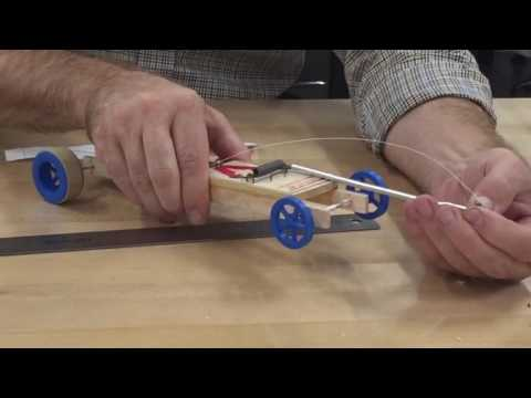 Mousetrap Car - Attach the string V.1