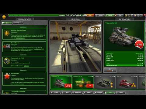 Tanki online opening containers #13  in my friends acount