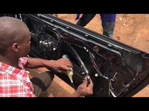 BMW DOOR Part-2| 👨🏽🔧Removing BMW Door Panel, Replacing Window Regulator and Door Glass Window  🚗💨💨💨