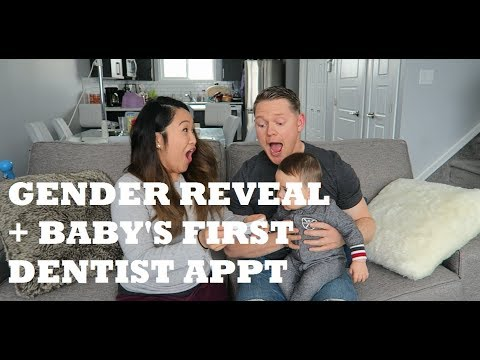 GENDER REVEAL (SISTER'S PREGNANCY) + BABY'S FIRST DENTIST APPOINTMENT