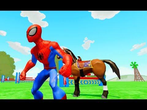 Xxx Mp4 डिज्नी कार्टून गेम 🦄 स्पाइडरमैन डिज्नी घोड़े की सवारी करता है 🐎 3gp Sex