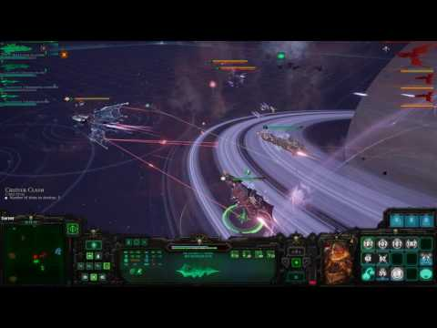 Battlefleet Gothic: Armada Multiplayer - Chaos vs High Level Eldar