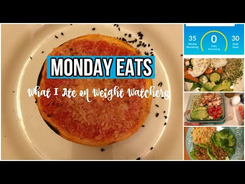 What I Ate on Weight Watchers | Back to work | 11.27.17