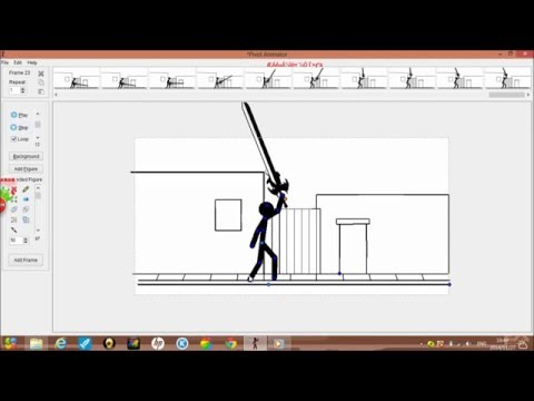 How to make a stickman video