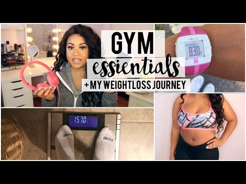 My Gym Essentials + Weight-loss Journey Chit-Chat!