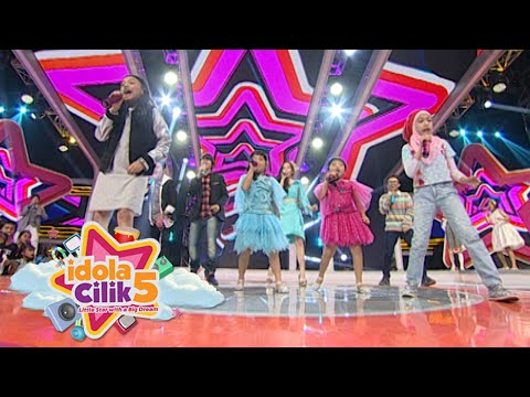 Alumni Idola Cilik & Finalis Nyanyi Bareng 'Theme Song Idola Cilik' [Idola Cilik 5] [13 Feb 2016]