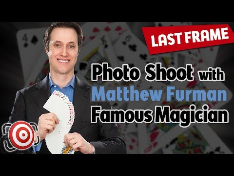My Photo Shoot With Celebrity Magician Matthew Furman