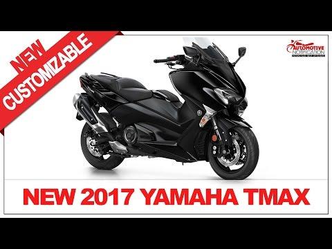MORE CUSTOM!! 2017 Yamaha TMAX Price Specs Review