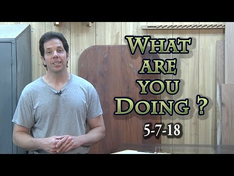 What are you Doing? 5-7-18 The show about YOU and more!