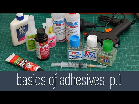 Architecture Modelmaking 101 - Basics of Adhesives Part 1