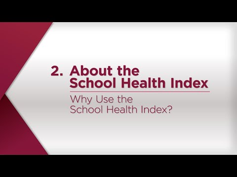 Why Use the School Health Index?