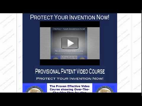 How To Patent Your Idea On Your Own Using a Provisional Patent Application