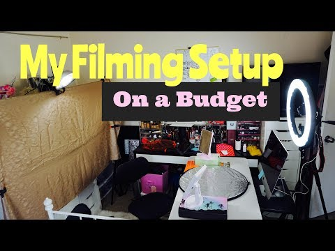 MY FILMING SET UP for MAKEUP on a BUDGET | FRITZIE TORRES