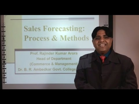 Sales Forecasting: Process & Methods in Hindi: E-Learning Program