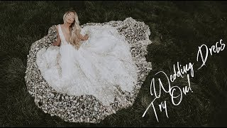 Wedding Dress Try On (Ty French, Hair By Chrissy, Lovely Bride)
