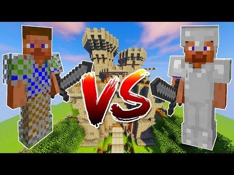Minecraft SOLDIERS CASTLE RAID • (INSANE) BATTLE! • Minecraft Ancient Warfare