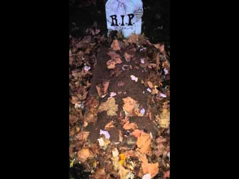 Grave Breather Moving Halloween Prop