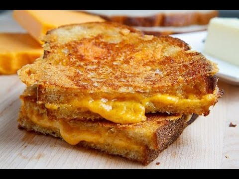 (Serious Munchies) Cheesy Texas Toast Grilled Cheese Sandwich