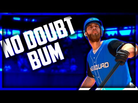 I HIT A NO DOUBT HOMERUN WITH MY PITCHER ! | MLB The Show 17