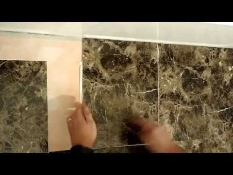 Easily cut floor tiles perfect every time!