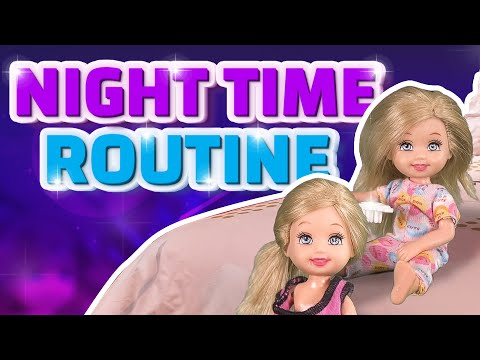 Barbie - The Twins Night Time Routine | Ep.138