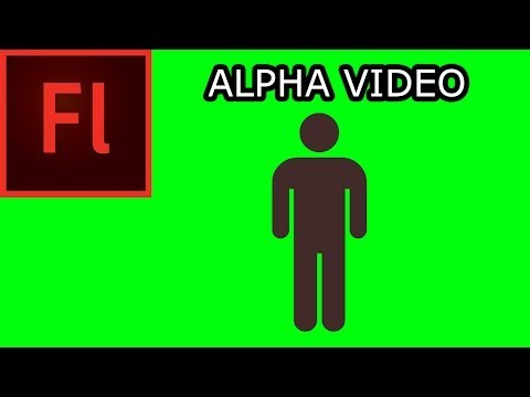 Working with Video in Flash CS5 002 - Alpha