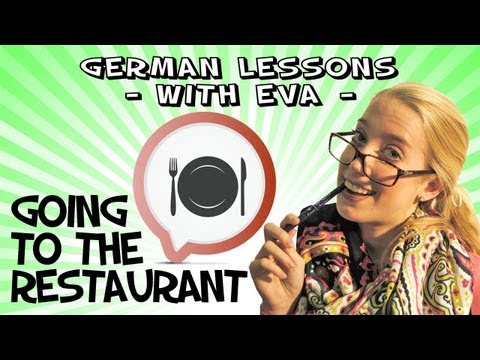 German Lesson 22 - Going to the restaurant