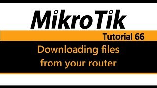 MikroTik Tutorial 38 - Virtual Local Area Network (VLAN) Basics