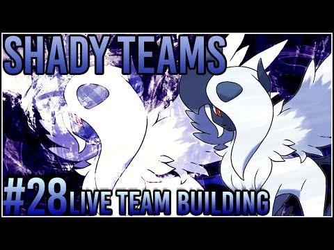 Shady Teams - Pokemon Omega Ruby/Alpha Sapphire [ORAS] Live Team Building