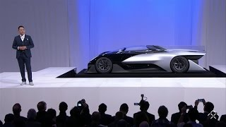 Faraday Future unveils electric hypercar of the future