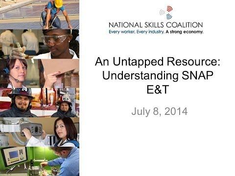 An Untapped Resource: Understanding SNAP E&T