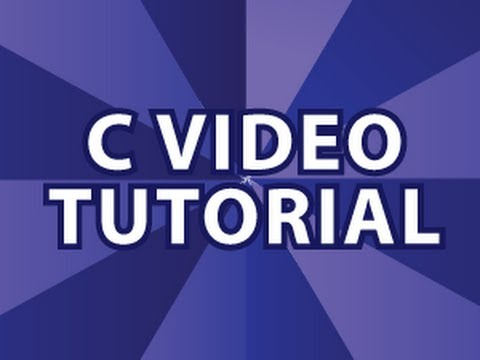 C Video Tutorial