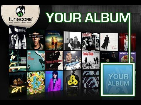 TuneCore - The Easiest Way To Sell Your Music/Songs In iTunes, Amazon, Spotify, Rhapsody, etc.