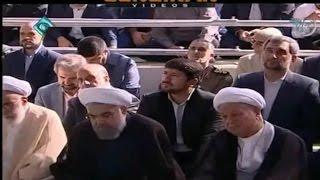 Sarcastic speech of Ayatollah Khamenei aginst Hashemi Rafsanjani in